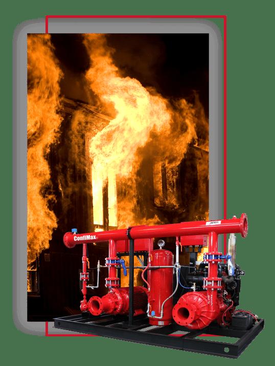 Sistema contra incendio Confimax