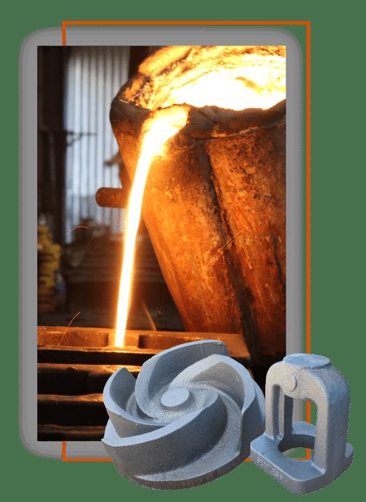 fundición de hierro gris