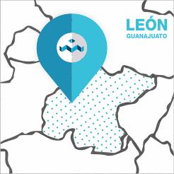 mapa Leon covalsa