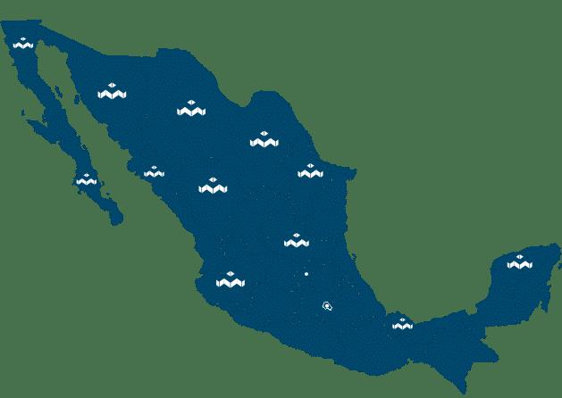 ser distribuidor mapa