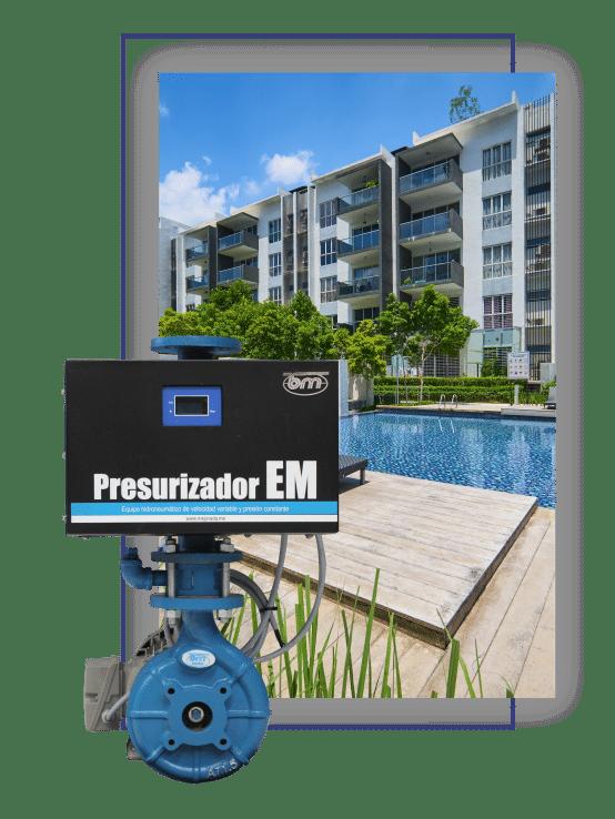 presurizador EM
